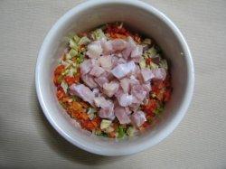 画像1: 2010.2.26 ワニとパプリカのカラフルサラダ