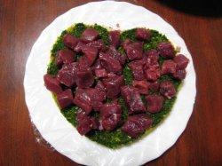 画像1: 2010.2.19 ダチョウとチキンのバレンタインスペシャルミール